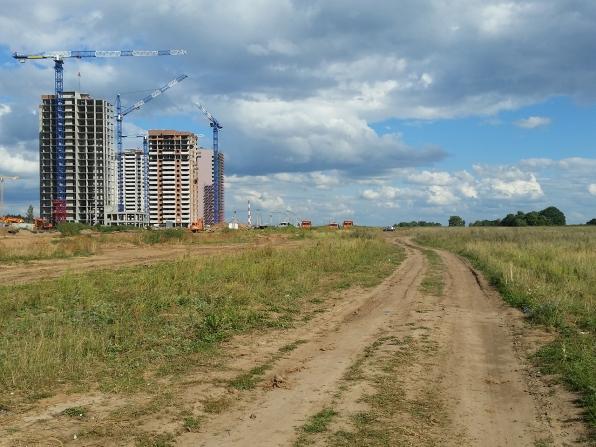 Салават Купере: Дорога у 13 квартала (фото 16 августа 2015)