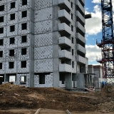 Салават Купере: Дом 13-1 - пристрой (фото 4 октября 2015)