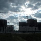 Салават Купере: Дома 12-1 и 12-2 вид с дороги (фото 19.07.2015)