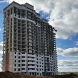 Салават Купере: Дом 13-1 - лицевая сторона дома (фото 4 октября 2015)